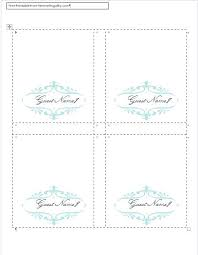 Free Wedding Place Card Template Tent Place Card Template Wedding