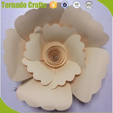 Pink Paper Flower Decorations 2018 Zhen Xin Qi Crafts Pink And Blue Roman Theme Artificial Paper Flowers Wedding Or Stage Decoration Buy Wedding Stage Decoration With