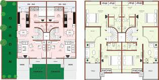 brownstone home plans inspirational row house design plans luxury glamorous 30 brownstone house plans