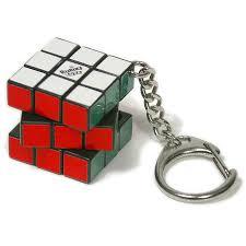 <b>Брелок</b> Мини-Кубик Рубика 3х3