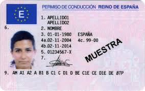 Spanish Fake Driving Buy Online Sale License For Driver