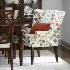 cushioned dining room chairs. Wonderful Chairs Great Patterned Upholstered Dining Chairs Cushioned Room Project For  Fantastic Perspective With Wheels Inside T