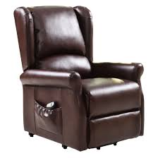 remote control recliners. Brown Electric Lift Chair Recliner With Remote Control Recliners R