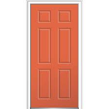 door. MMI Door 36 In. X 80 6-Panel Right-Hand Inswing The Home Depot