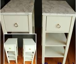 contact paper on furniture. DIY Nightstand Upgrade With Marble Contact Paper On Furniture A
