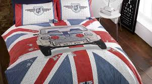 union jack bedroom fabrics accessories