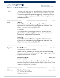 Professional Free Resume Templates The Best Free Resume Templates Pointrobertsvacationrentals 99