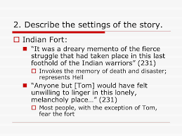 "the devil and tom walker"" washington irving ppt video online  describe the settings of the story"
