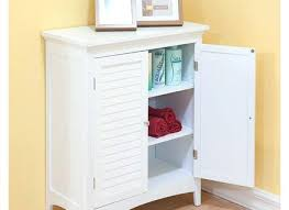 kitchen floor cabinets. Mesmerizing White Floor Cabinet Double Door By Essential Home Kitchen Cabinets D