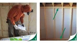 knee wall insulation installation