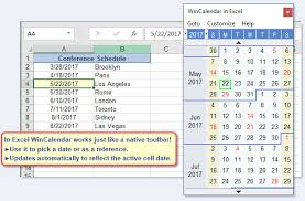 Calendar From Excel Data Free Excel Pop Up Calendar Excel Date Picker