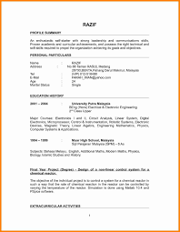 Sample Resume For Lecturer In Computer Science For Freshers New