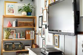 ... Fascinating Wall Shelves Around Tv Floating Shelves Around Flat Screen  Wiideb Shelves And ...