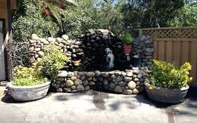 rock garden fountains make rock garden fountain rock garden fountains