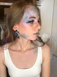 unicorn makeup tutorial fairy makeup tutorial festival makeup tutorial revlon color charge loose pigment in holographic revlon color charge lip