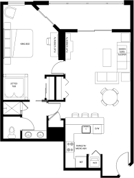 Mgm Signature One Bedroom Balcony Suite Floor Plan One Bedroom Suite Plans Tllon Room Floorplan Grand One Bed Suite