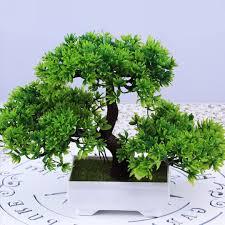 office bonsai tree. 180mm-Plastic-Resin-Bonsai-Tree-Artificial-Plant-Decoration- Office Bonsai Tree E