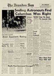 Brandon Sun Newspaper Archives, Jul 22, 1966, p. 1