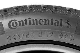 Tire Chart Meaning How To Read A Tire Sidewall Continental