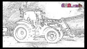 Coloriage Tracteur Youtube