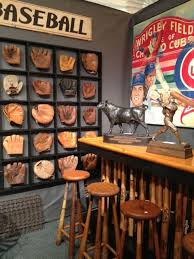 old mitts and bats would love this in a down stairs, man cave type settimg.  Bar is a good DIY project.
