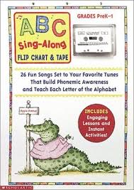 Abc Sing Along Flip Chart And Audiotape Scholastic