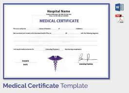 Medical Certificate For Students Under Fontanacountryinn Com