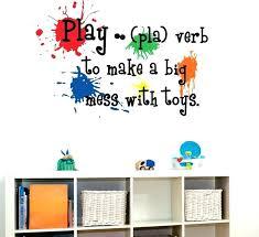 playroom wall decals also marvelous playroom wall decor kids playroom vinyl wall art design play room wall kids playroom wall fun playroom wall decals eer
