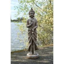 large garden buddha statue incredible outdoor statue intended for standing decorations large garden buddha statues