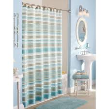 stunning round mirror wall cabinet with aqua showers shower curtains color and alluring aqua bathmat