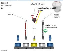 plz help seatalk the hull truth boating and fishing forum moveing to garmin and keep the st5000 shouldn t be a big issue just 2 wire from garmin nmea 0183 port to the st5000 anyhow could you identify part as