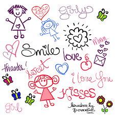 Cute Girly Doodle Brushes