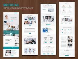 Mailchimp Responsive Design Template Medical Responsive Email Templates By Pennyblack Templates