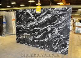 indian black forest granite polished tiles slab