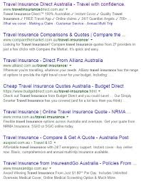 travel insurance quotes compare the market awesome images seo and uity how user metrics influence
