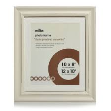 wilko cream distressed photo frame 12 x 10in image 1