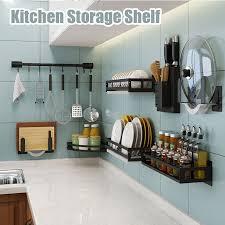 floating kitchen storage shelf wall