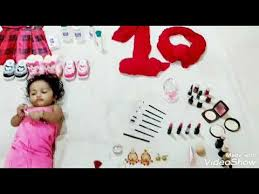 makeup theme baby photoshoot at home