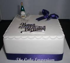 Champagne Bottle Cake Decoration A Champagne Bottle And Ice Bucket 60th Birthday Cake With A Big 34