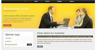 Css Website Templates Impressive Free Business Web Templates Css Codebluesolutions