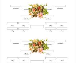Family Tree Chart Templates Family Tree Template With Siblings Fresh 18 Sample Family Tree Chart