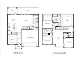 Awesome 2 Story 4 Bedroom House Plans 7 Simple 2 Story House Floor Plans  Simple