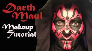 darth maul makeup tutorial