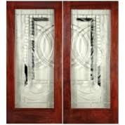 exterior double doors. Mahogany Double Door With Insulated Glass (1-3/4\ Exterior Doors