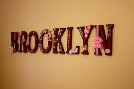Baby Name Letters For Wall Ideas