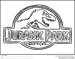 Park Coloring Pages Images Free Jurassic Page Jeep Atalmageco