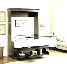 murphy bed desk combo. Murphy Bed With Desk Horizontal Plans Wall Combo .