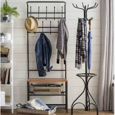 Image Storage Bench Entryway Storage Hall Tree Wayfair Entryway Shoe And Coat Rack Wayfair