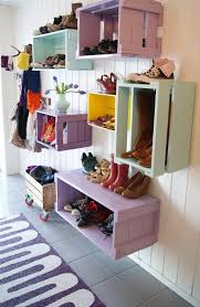 kitchen storage ideas diy crates shelving organize