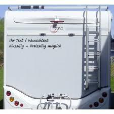 Aufkleber Ihr Text Wunschtext Wohnmobil Wohnwagen Camper Camping